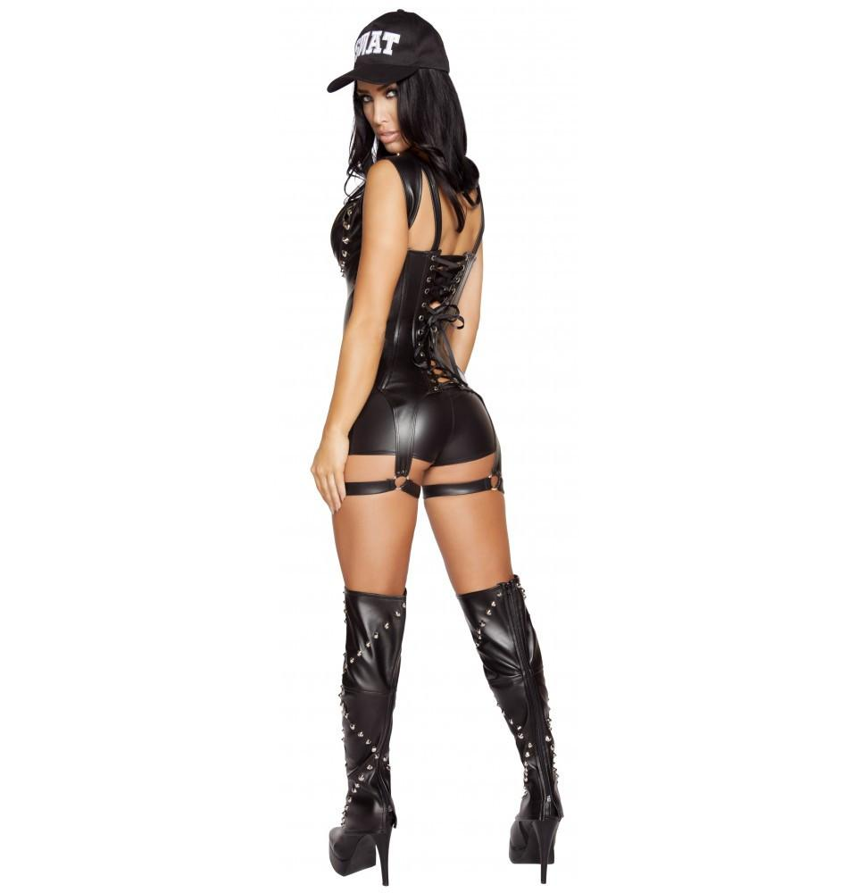 4587 3pc Seductive SWAT Agent - Roma Costume Costumes,New Arrivals,New Products - 2