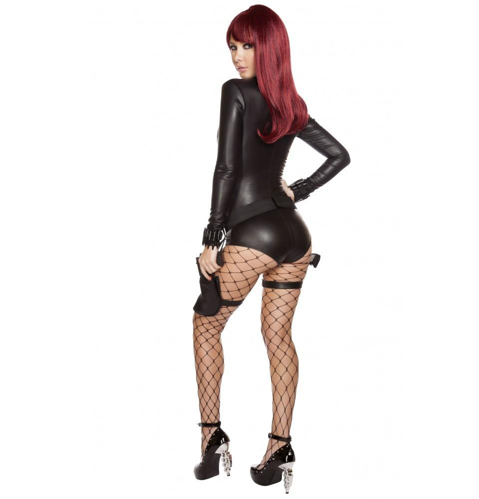 4595 2pc Hot Hitwoman - Roma Costume New Arrivals,New Products,Costumes - 2