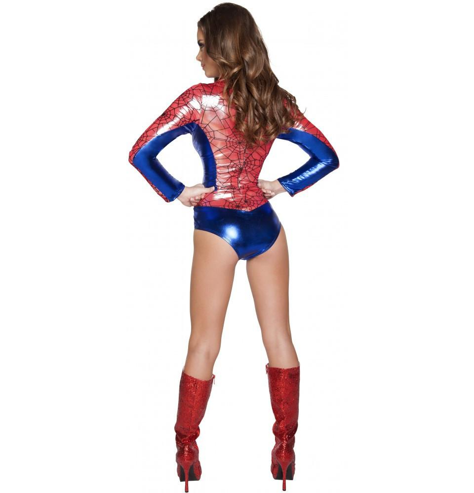 4604 1pc Sexy Spider Vigilante - Roma Costume New Arrivals,New Products,Costumes - 2