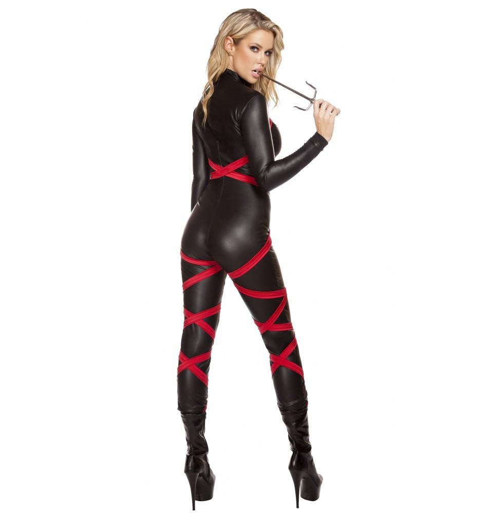 4605 1pc Naughty Ninja - Roma Costume Costumes,New Products,New Arrivals - 2