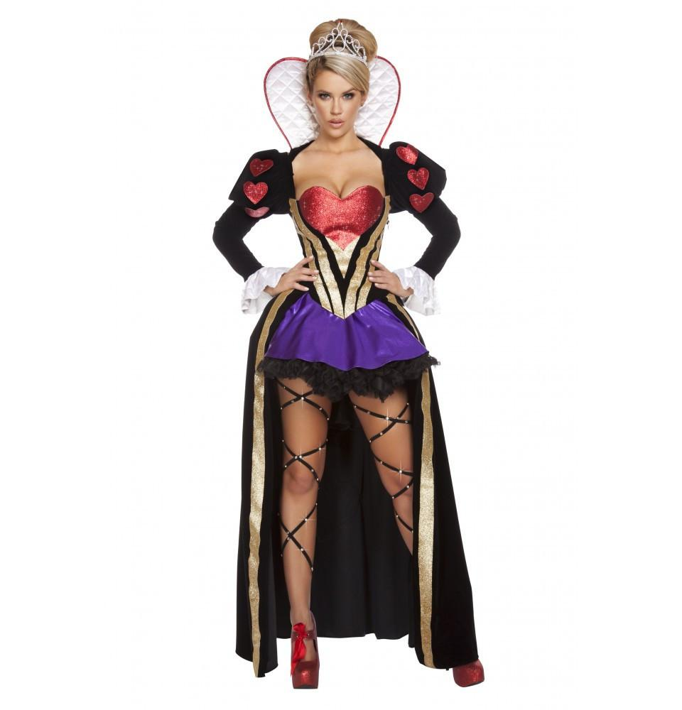 4608 4pc Sultry Heartless Queen - Roma Costume New Products,Costumes,New Arrivals - 1
