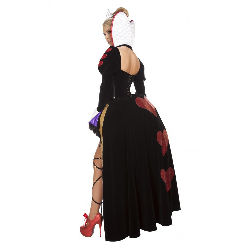 4608 4pc Sultry Heartless Queen - Roma Costume New Products,Costumes,New Arrivals - 2