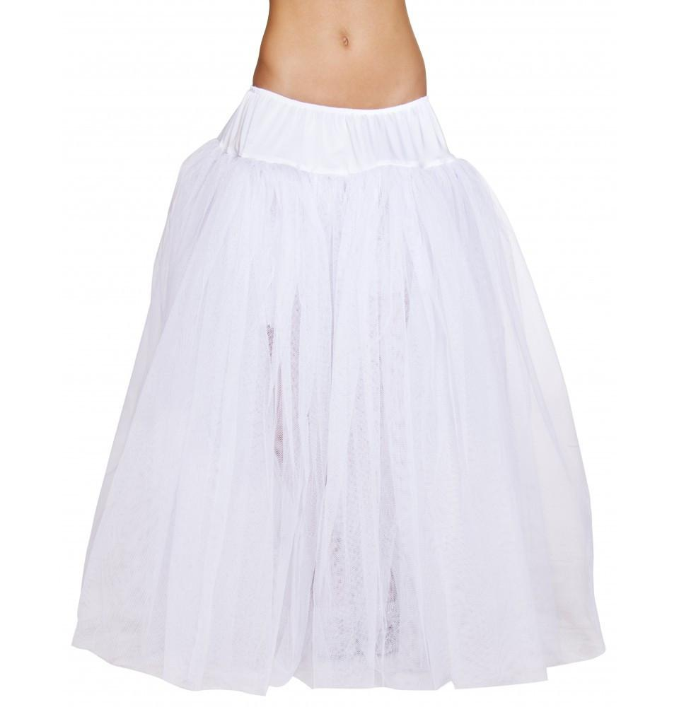 4554 Full Length White Petticoat - Roma Costume New Products,New Arrivals,Accessories