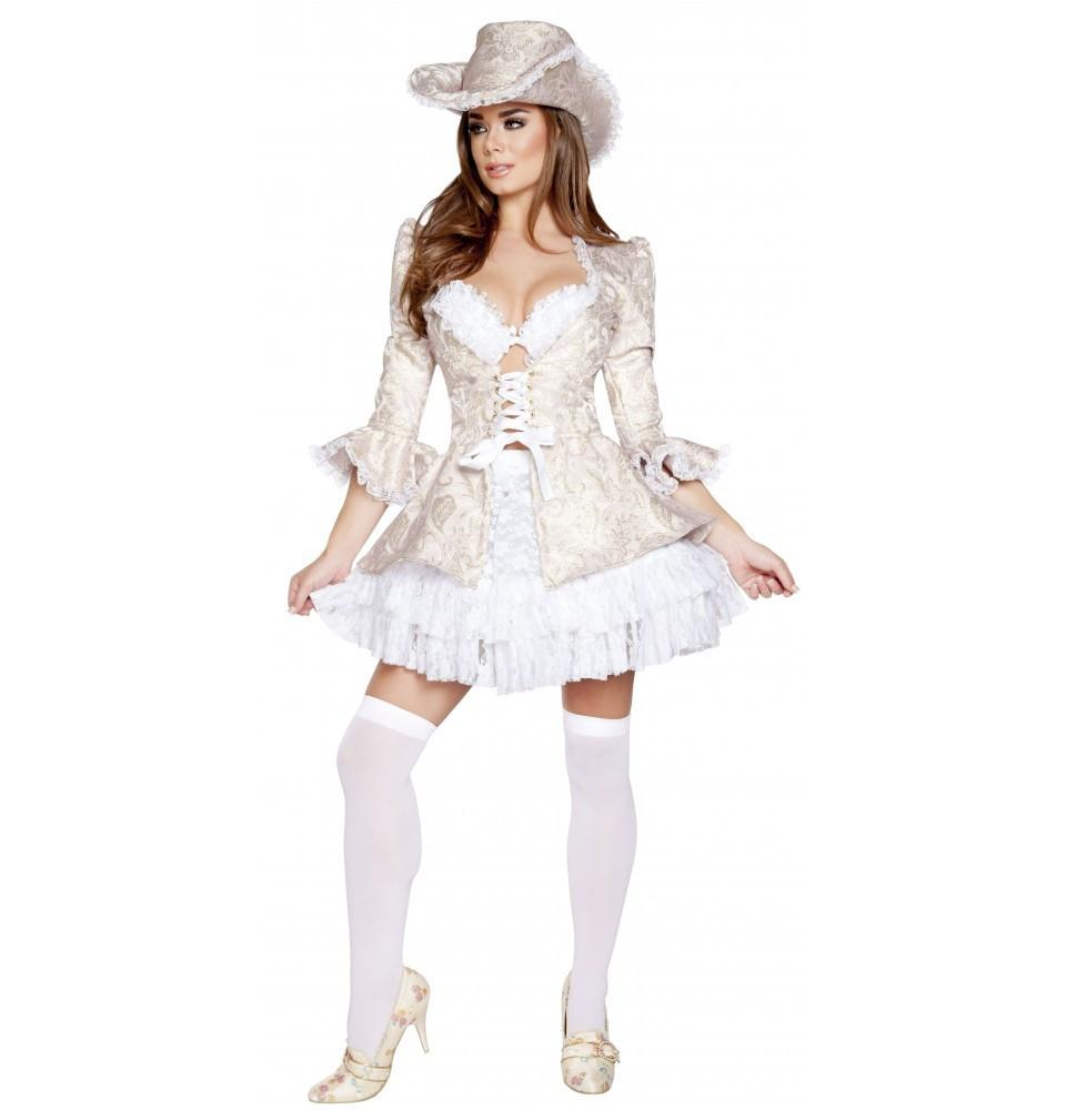 4620 4pc Marie Antoinette - Roma Costume Costumes,New Products,New Arrivals - 1