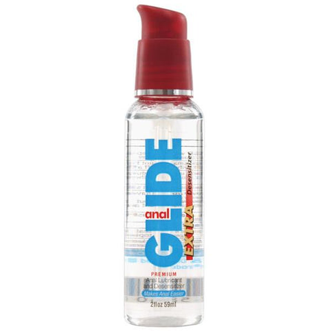 Anal Glide Extra Desensitizer - 2 oz Pump Bottle