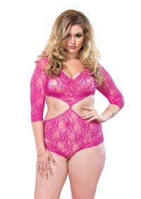 Sweetheart Teddy *Plus Size* - PlaythingsMiami