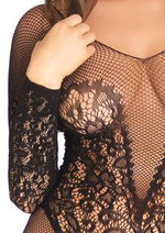 Net and Lace Bodystocking