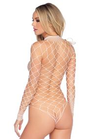 Wide Net Bodysuit - PlaythingsMiami