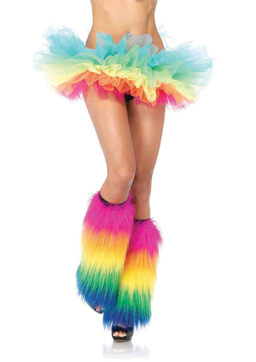 Rainbow Organza Tutu - PlaythingsMiami
