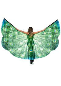 Ravewear Peacock Wings