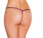 Metallic Tear Drop G-String Bottom - PlaythingsMiami