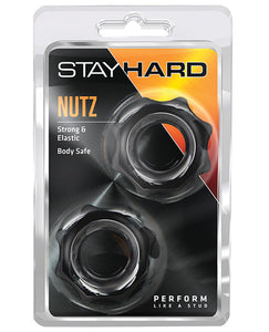 Blush Stay Hard Nutz - Black - PlaythingsMiami