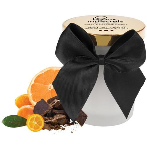 Bijoux Indiscrets Melt My Heart Massage Candle - Dark Chocolate