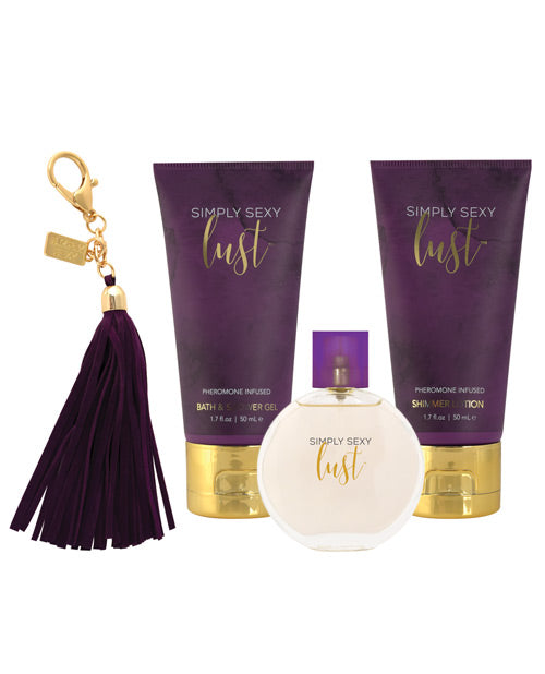 Simply Sexy Lust Pheromone Infused Perfume Gift Set - PlaythingsMiami