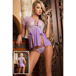 Oh-So-Low Babydoll Lilac - PlaythingsMiami