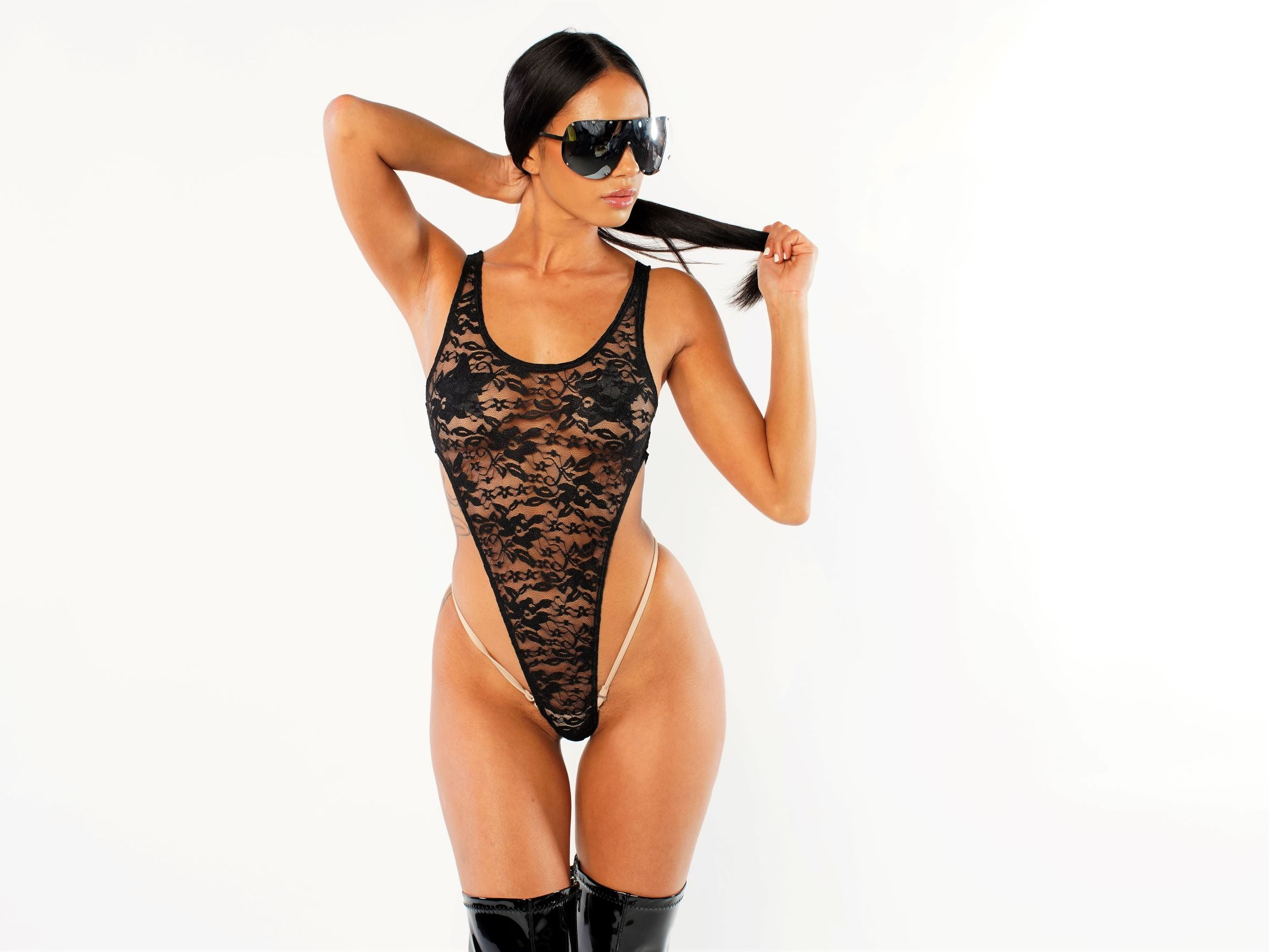 Exclusive Lace Bodysuit PTS01
