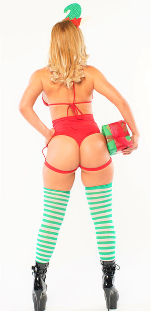 Exclusive Tis the Season Sexy Elf Outfit