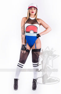 Asley pokemon sexy body suit