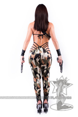 *Exclusive* Army Combat Cutie - PlaythingsMiami