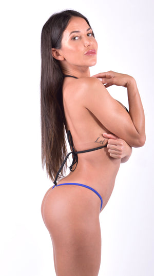 Exclusive Micro Bikini Thong with Clips - PlaythingsMiami