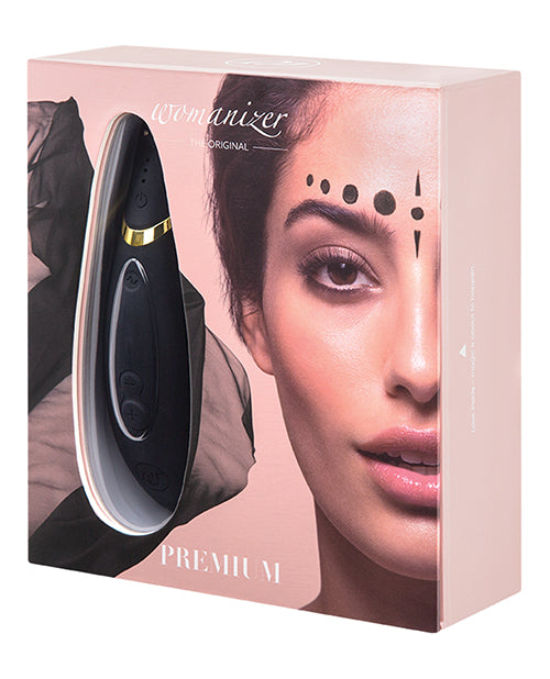 Womanizer Premium - The Original Clitoral Stimulator - Black