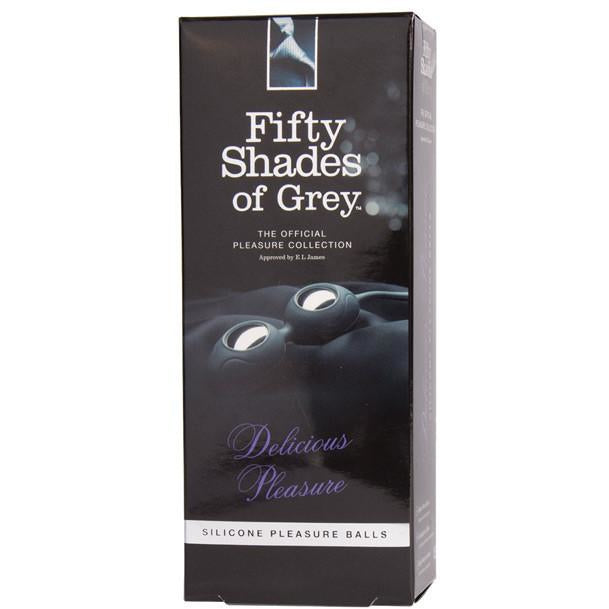Fifty Shades of Grey Delicious Pleasure Silicone Pleasure Balls - PlaythingsMiami