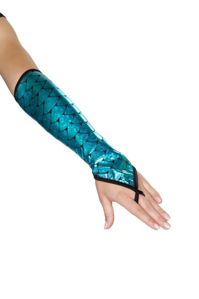 Elbow Length Mermaid Gloves
