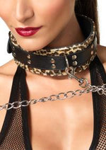 Collar with leash - PlaythingsMiami