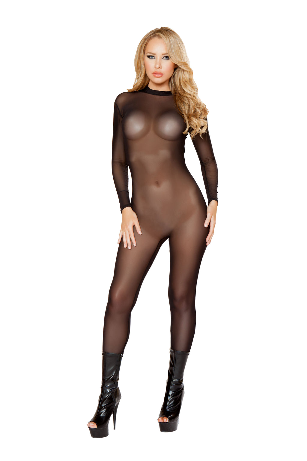sheer -bodysuit