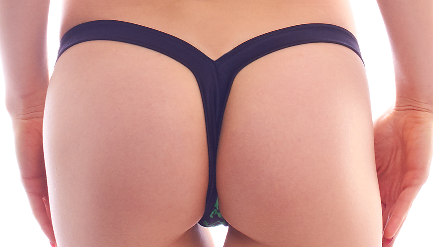 Lucky Shamrock Thong
