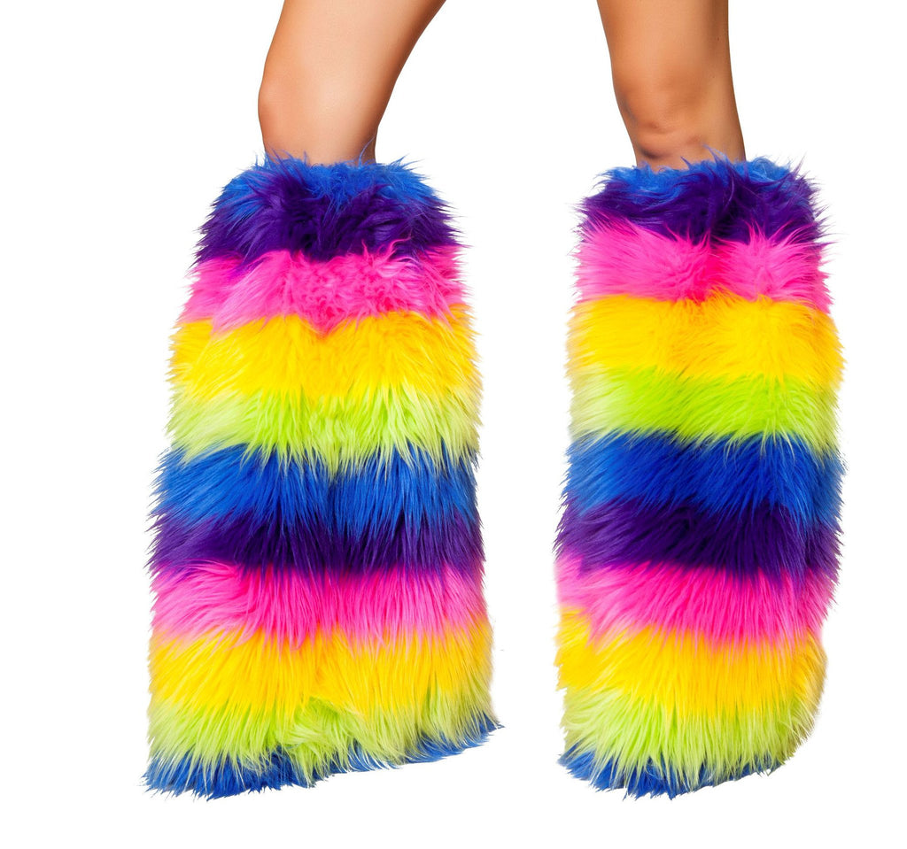 Fur boot covers rave and festival accesory all colors available miami