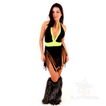 *Exclusive*  Hippie Chic Fringe Bodysuit - PlaythingsMiami