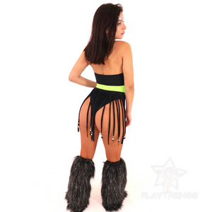 *Exclusive*  Hippie Chic Fringe Bodysuit