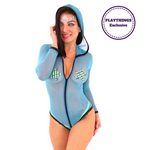 *Exclusive* Hooded Bodysuit