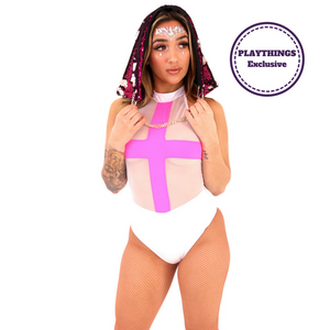 *Exclusive* Vexed Bodysuit High Collar