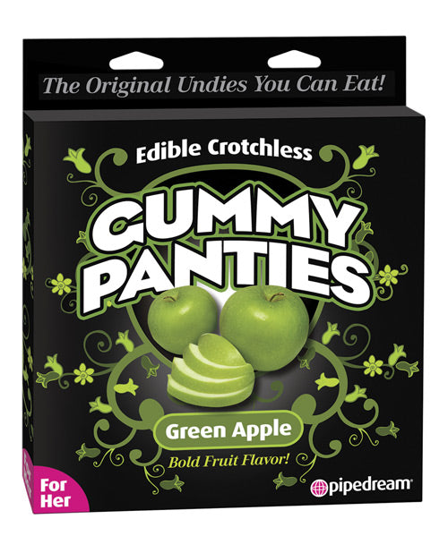 Edible Crotchless Gummy Panty - Apple - PlaythingsMiami