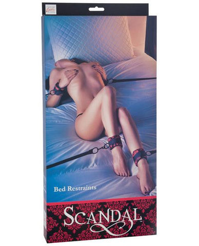Scandal Bed Restraint Black/Red