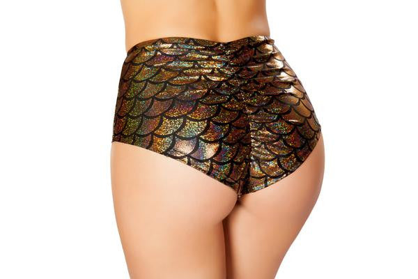 High Waisted Mermaid Shorts **Assorted Colors**