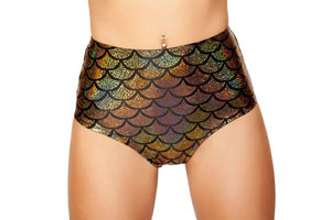 High Waisted Mermaid Shorts **Assorted Colors** - PlaythingsMiami