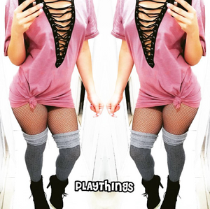 T-Shirt Dress - PlaythingsMiami