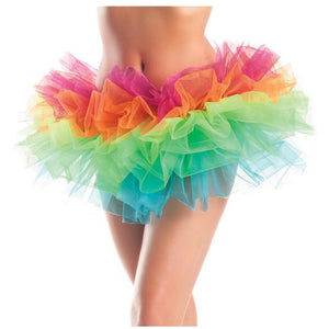 Layered Organza Tutu Rainbow - PlaythingsMiami