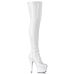"7"" Plain Stretch Thigh Boots ADORE3000 - PlaythingsMiami"