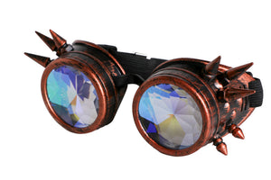 Kaleidoscope Steam Punk Goggles