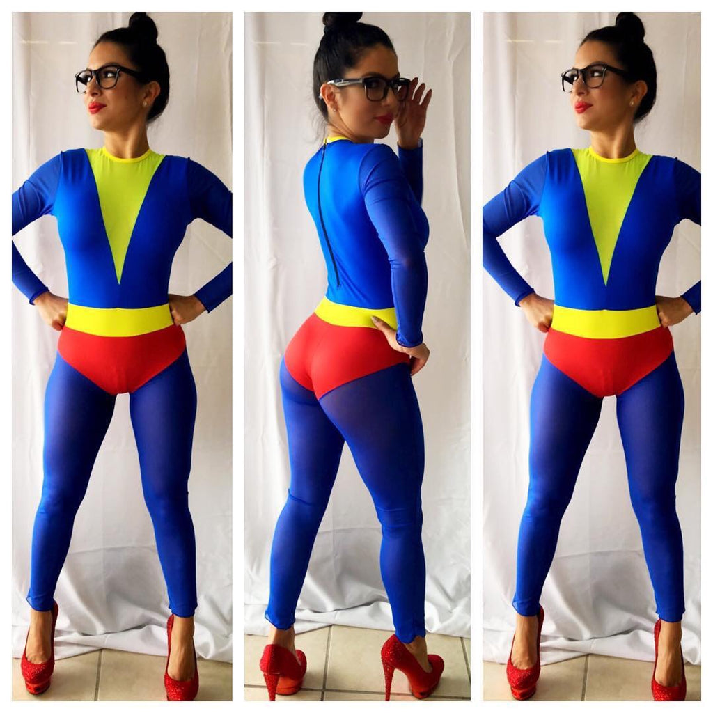 Exclusive Super Girl Romper