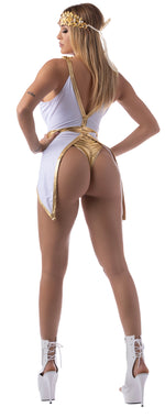 *Exclusive Golden Greek Goddess