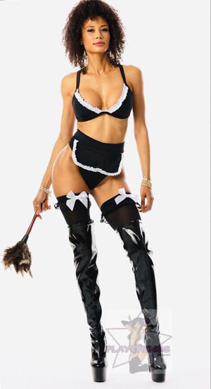 Exclusive Hot French Maid