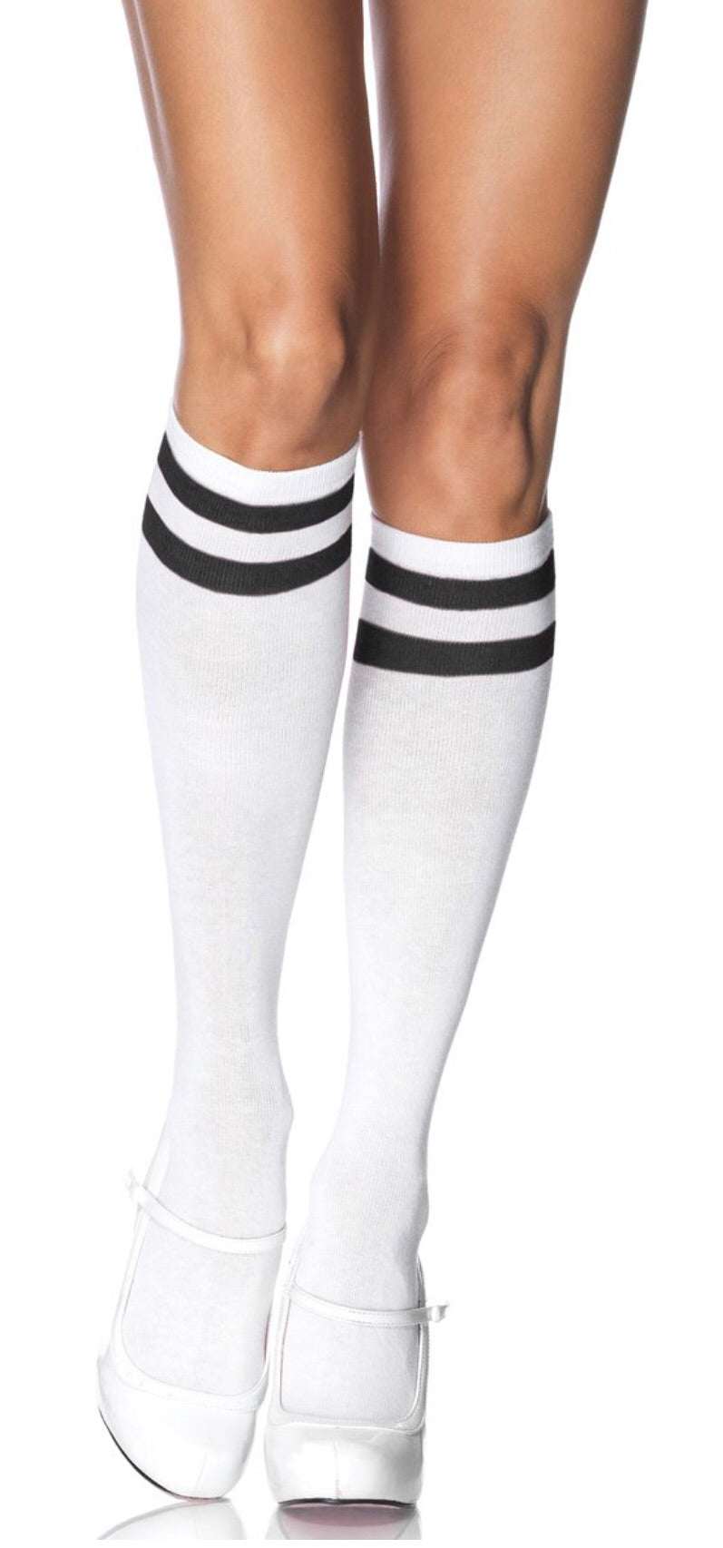 Athletic Knee High Stockings