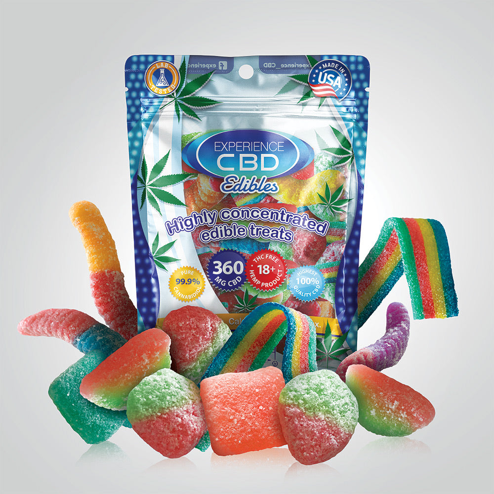 CBD 360mg Gummies 12 Pack