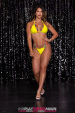 Exclusive Rainbow Yellow Bikini PT-16