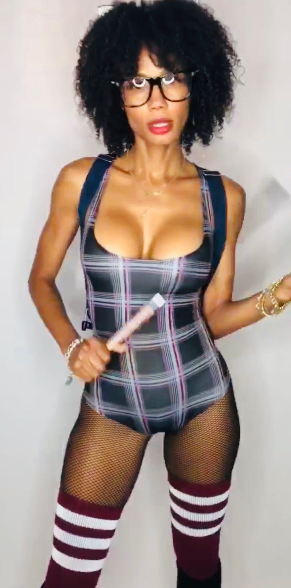 Plaid Bodysuit